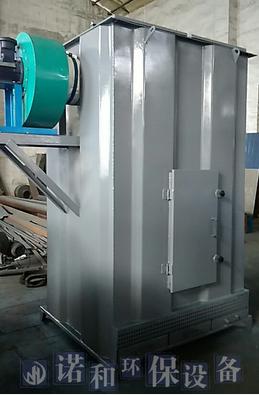 小型单机布袋除尘器结构及工作原理